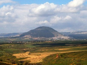 Mt. Tabor, believed by many to be the site of the Transfiguration of Jesus