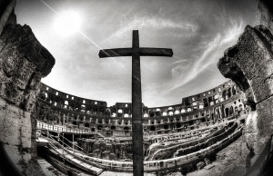 The Cross in the Roman Colosseum